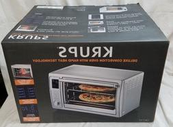 KRUPS OK710D51 Deluxe Convection TOASTER OVEN Stainless Stee