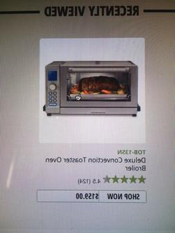 CUISINART Deluxe digital convection toastet oven broiler