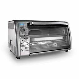 digital convection toaster oven stainless steel black