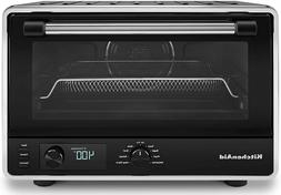 digital countertop oven with air fry in