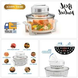 digital infrared halogen technology convection oven