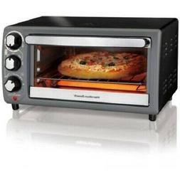 Hamilton Beach Electric 4 Slice Toater Oven Kitchen Broil Ba