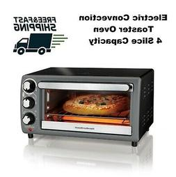 Electric Convection Toaster Oven 4 Slice Capacity Kitchen Co