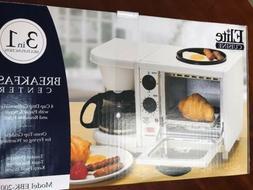 elite cuisine breakfast deluxe cooker 3 n1