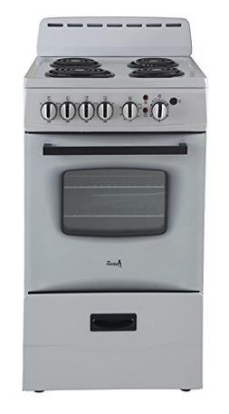 "Avanti ER20P0WG - 20"" Electric Range White"