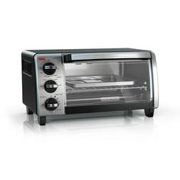 EvenToast Tech 4-Slice Natural Black Convection Toaster Oven