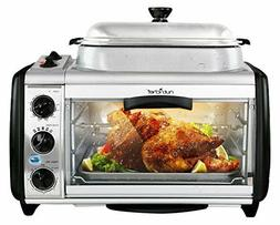 Extra Electric Convection Dual Toaster Oven Bake Grill Cooki
