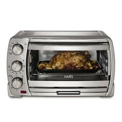 Oster Extra Large Convection Toaster Oven, Brushed Chrome