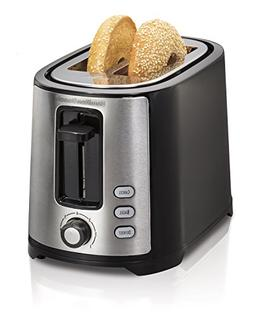 Hamilton Beach Beach Extra-Wide 2 Slice Slot Toaster, Black