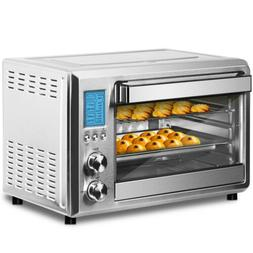 FREE SHIPPING Electric Convection Oven Countertop 6 Slice LC