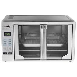 French Door Oster Digital Countertop Toaster Oven Stainless