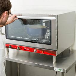 Full Size Electric Countertop Convection Oven with Steam Inj