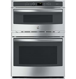 GE 30-inch Combination Stainless Steel Wall Oven