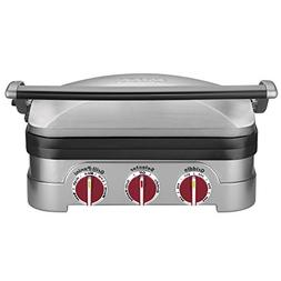 Cuisinart Griddler Grill Panini Press Kitchen Supplies Silve
