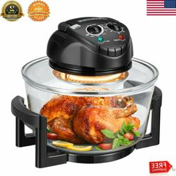 Halogen Oven Convection Infrared 12Quart Glass Air Fryer Bro