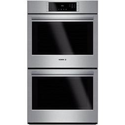 "Bosch HBL8651UC 800 30"" Stainless Steel Electric Double Wall"