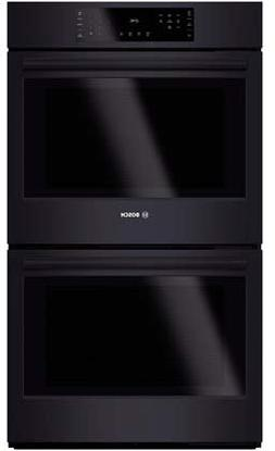 """Bosch HBL8661UC 30"""" 9.2 Cu. Ft. Double Wall Oven with Europe"""