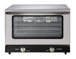 Heavy Duty Half Size Countertop Convection Oven, 1.5 Cu. Ft.