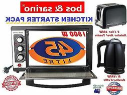 Home Combo 45L Convection Rotisserie Oven & 2 Slice Toaster