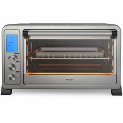 HomeLabs Convection Toaster Oven Countertop Stainless Steel