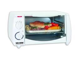 im 255w white 8 liter toaster oven