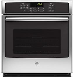 "GE JK5000SFSS 27"" Stainless Steel Electric Single Wall Oven"