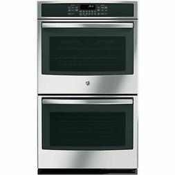"GE JT5500SFSS 30"" Stainless Steel Electric Double Wall Oven"
