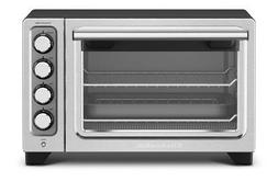 KitchenAid KCO253BM 12 Compact Convection Oven, Black Diamon