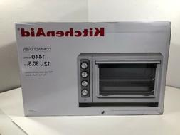 KitchenAid KCO253CU 12-Inch Compact Convection Oven Silver N