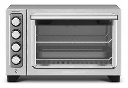 KitchenAid KCO253CU Compact Convection Oven - Silver FREE SH