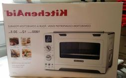 KitchenAid KCO275WH Convection 1800W Digital Countertop Oven