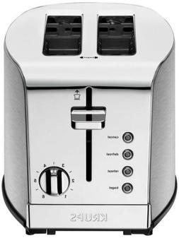 KRUPS KH732D50 toaster 2-Slice Stainless Steel