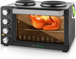 30 Quarts Kitchen Convection Oven - 1400 Watt Countertop Tur