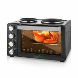 NutriChef Kitchen Convection Electric Countertop Rotisserie