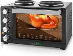 Kitchen Convection Oven 1400 Watt Countertop Turbo Rotisseri