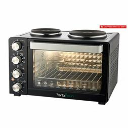 Kitchen Convection Oven Electric Countertop Rotisserie Toast