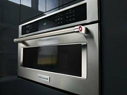 Kitchenaid KMBP100ESS 30 inch Built In Microwave Oven Stainl