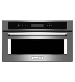 "KITCHENAID KMBP100ESS 30"" Built-in Microwave Oven with 900 W"