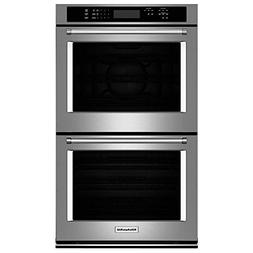"KITCHENAID KODE300ESS 30"" Double Electric Wall Oven with 10."