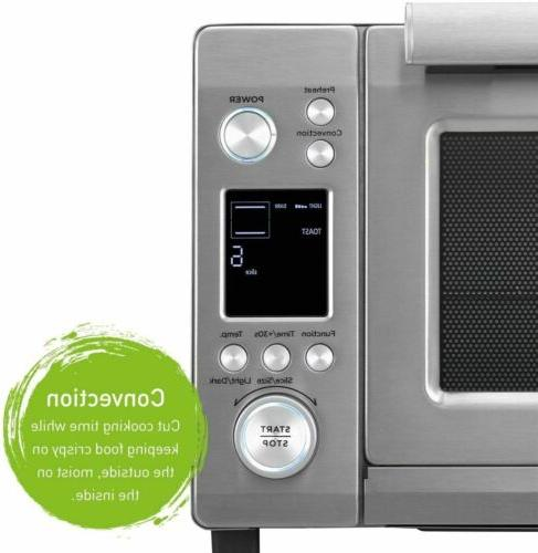 Panasonic cu.ft. Instant Heat Convection Oven with Double Infrared a