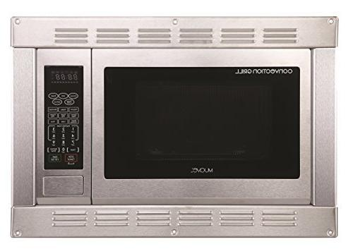 1.0 Cubic Ft, 120v Stainless Steel Home Microwave Convection