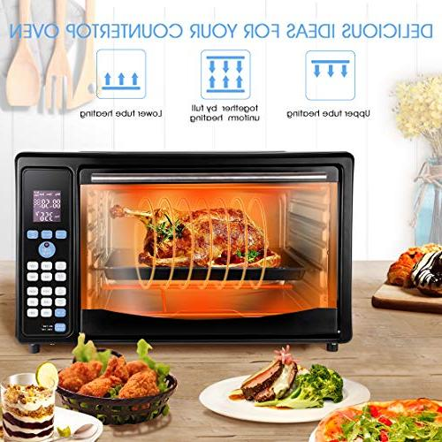 GOLUX Multi-Use Countertop Ovens with Drying Controls and Food Function