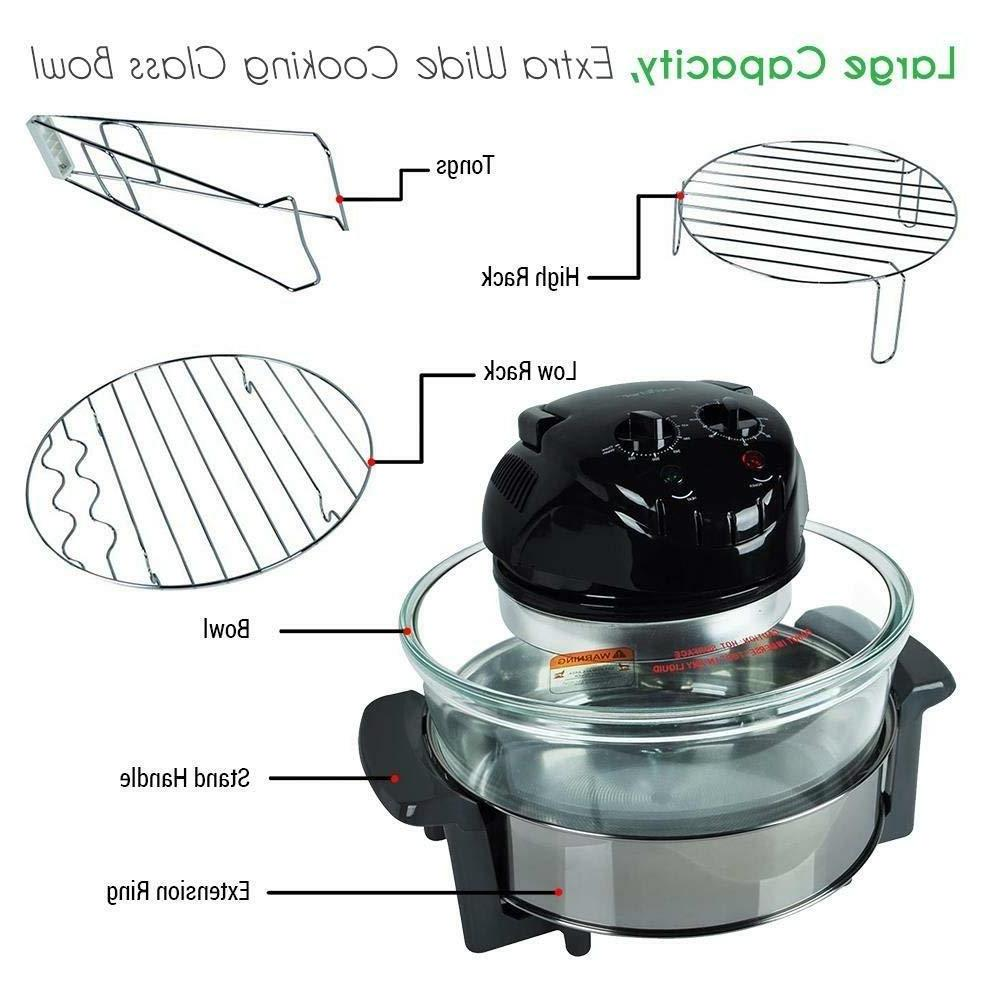 NutriChef 1000W Air Black