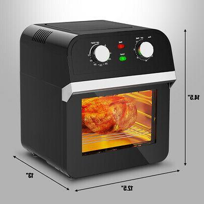 12.7QT Air Oven 1600W Dehydrator w/ Accessories