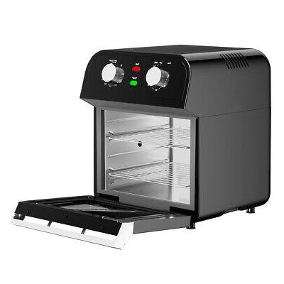 12.7QT Air Fryer Oven 1600W Rotisserie Convection Oven w/ Ac