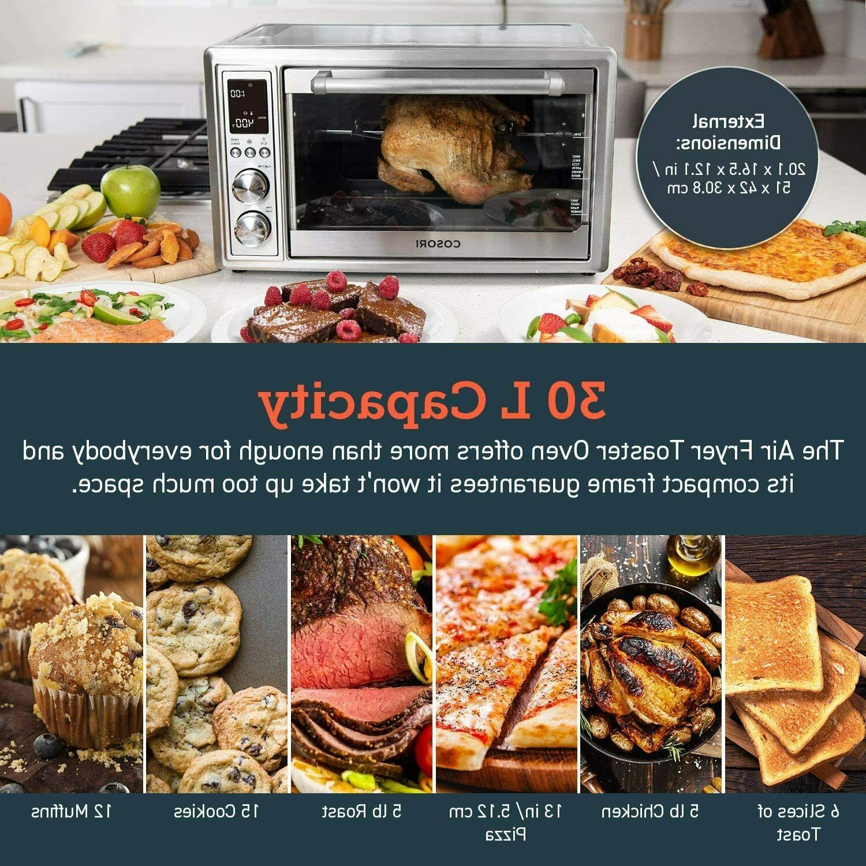 COSORI Toaster Oven Convection Rotisserie & Dehydrator