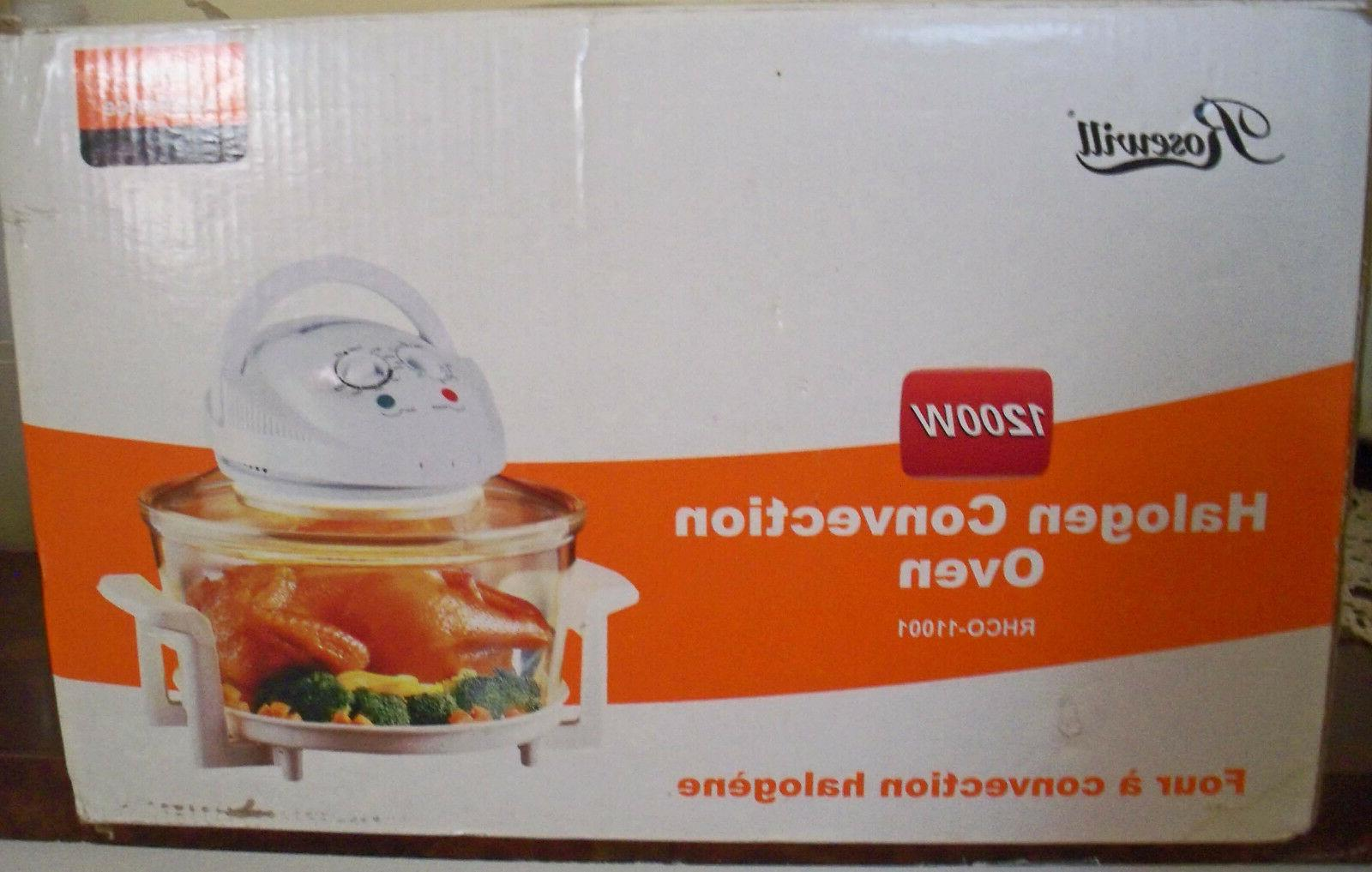 1200w halogen convection oven new in box
