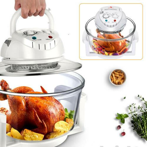 12 Liter Electric Air Fryer Convection Oven Roaster Turbo Co