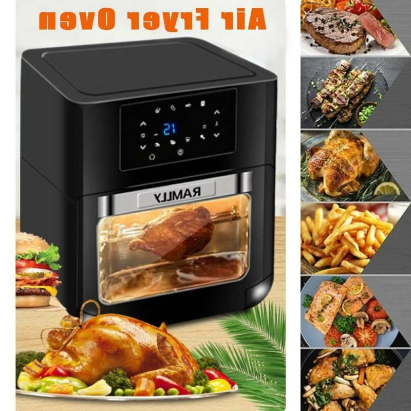 14QT Electric Fryer Oven with OilLess Oven Touchscreen