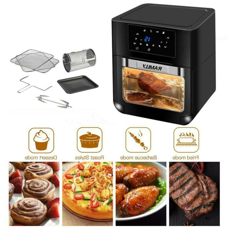 14QT 1700W Electric Air Fryer with
